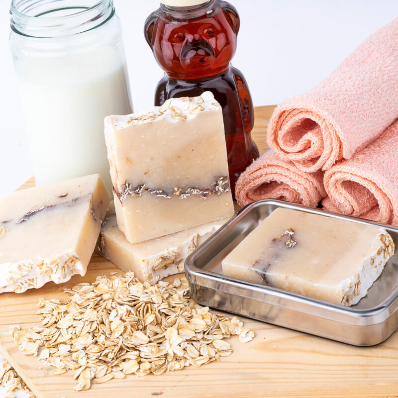 Oat Honey Cold Process Soap