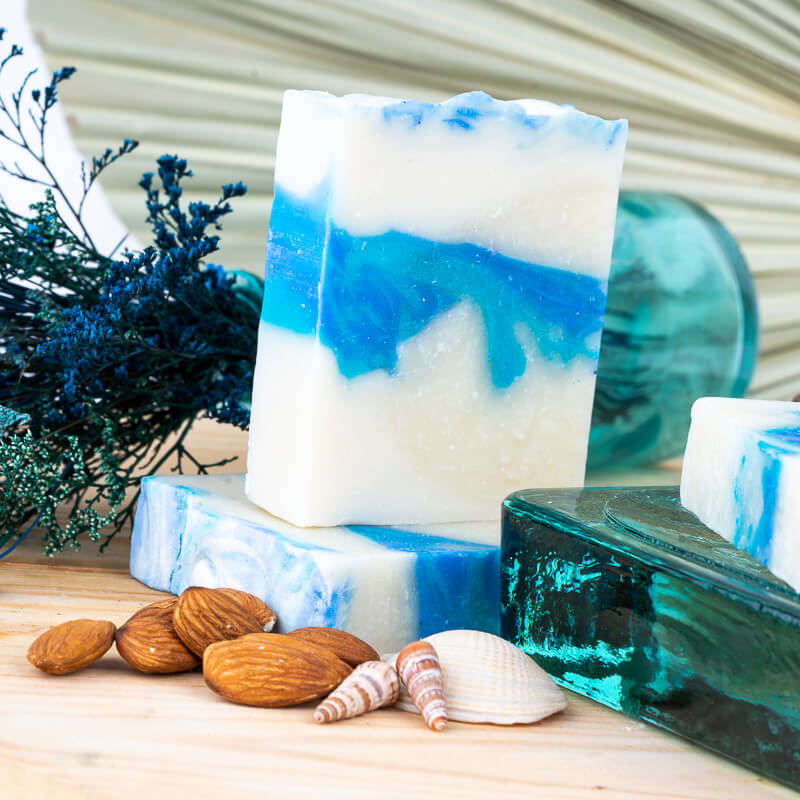 Ocean Breeze Cold Process Soap